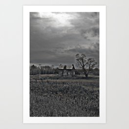 The Old Man's House Art Print
