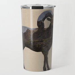 The Rocky Mountain Bighorn Sheep Travel Mug