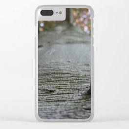 Wrinkled Clear iPhone Case