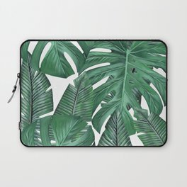 Tropical Leaves Art Print Laptop Sleeve