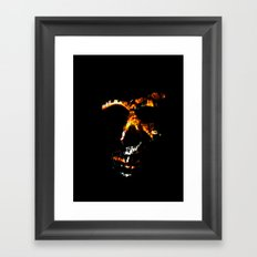Death Charmer Framed Art Print