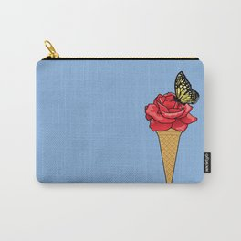 Butterfly Ice Cream Carry-All Pouch
