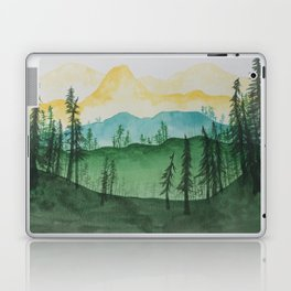 Mountains and Trees Laptop & iPad Skin