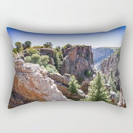 Black Canyon Colorado Rectangular Pillow