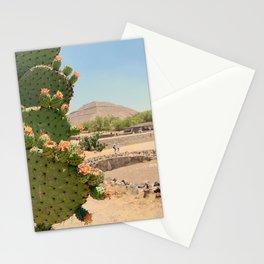 Nopales en Teotihuacan Stationery Cards