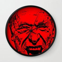 Outlaws of Literature (Charles Bukowski) Wall Clock