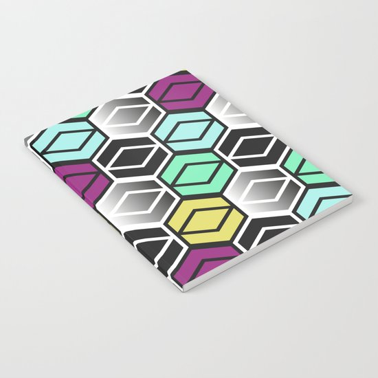 HexagonWall Notebook
