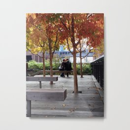 Autumn is for Lovers Metal Print