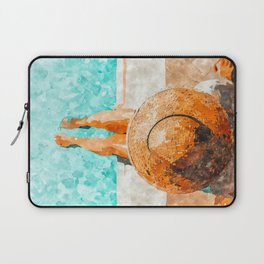 By The Pool All Day Laptop Sleeve