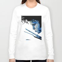 edward scissorhands Long Sleeve T-shirts featuring Edward Scissorhands by OnaVonVerdoux