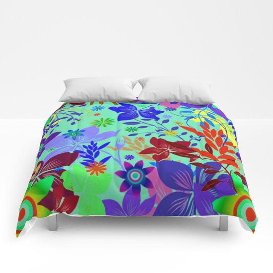 Flowers Explosion Comforters