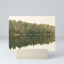 Reflected Forest Mini Art Print