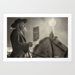 Feira da Golegã 2015 2 Horse Art Print