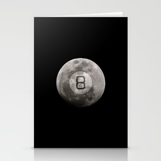 Magic 8 Ball Stationery Cards