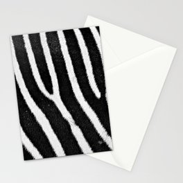 African Zebra Hide Detail Natural Texture 3 Stationery Cards