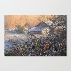 Leaves Before The Fall  Canvas Print