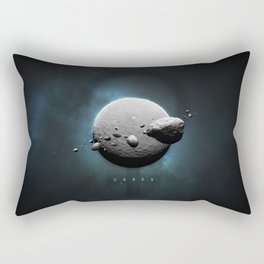 A Portrait of the Solar System: Ceres Rectangular Pillow