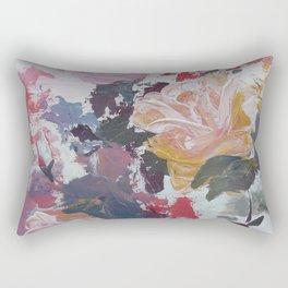 Abstract Roses Rectangular Pillow