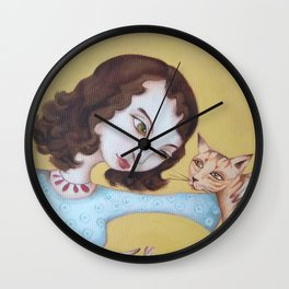 We need to chat Wall Clock