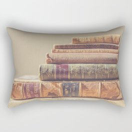Vintage Books Rectangular Pillow