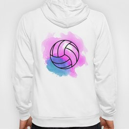 Volleyball Watercolor Hoody