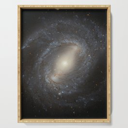 Barred Spiral Galaxy NGC 4394 Serving Tray