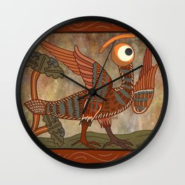 harpy glance Wall Clock