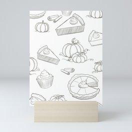 Autumn Food Mini Art Print