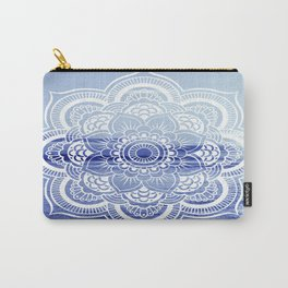 Water Mandala : Blue Carry-All Pouch