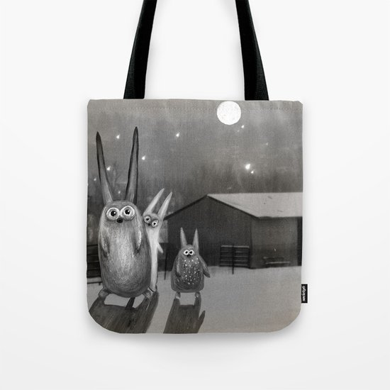 Night Scene Tote Bag
