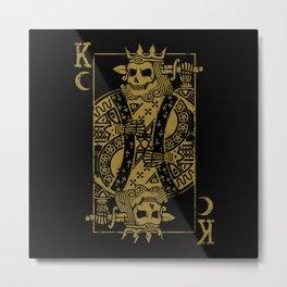Suicide King Metal Print