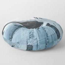 Airplane Wreckage Floor Pillow