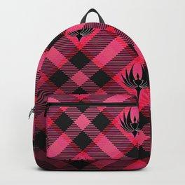 Galactica Plaid Backpack