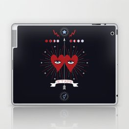 Je t'aime Laptop & iPad Skin