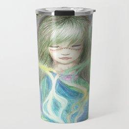 Cosmic Tea Woman Travel Mug