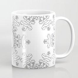 Ornate snowflake Coffee Mug