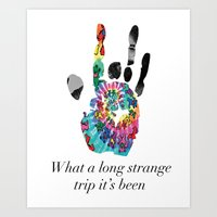 Garcia Hand Art Print