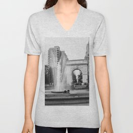 Washington Square Love Unisex V-Neck