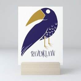 Cute and Smart Ravenclaw Mini Art Print
