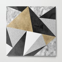 Triangles Are Never Boring Metal Print