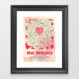 True Romance Framed Art Print