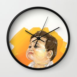 Child Wall Clock