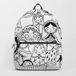 Matrioshka doodle Backpack