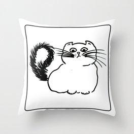 KET Throw Pillow