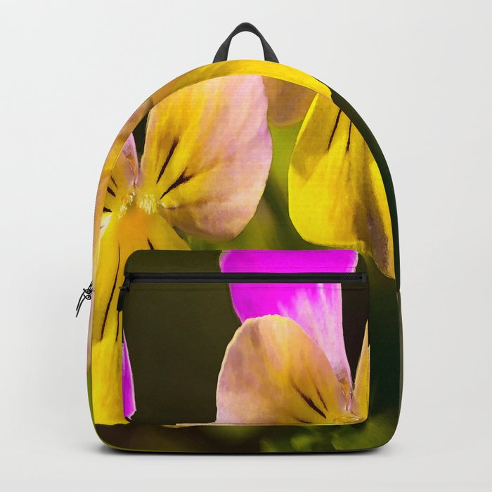 Colorful violets  - beauties of nature - #Society6 - #Buyart Backpack