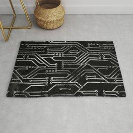 Circuit, tech electronics Rug