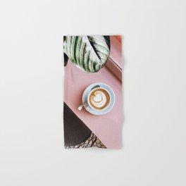 pink latte Hand & Bath Towel