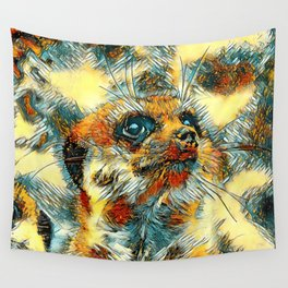 AnimalArt_Meerkat_20170601_by_JAMColorsSpecial Wall Tapestry