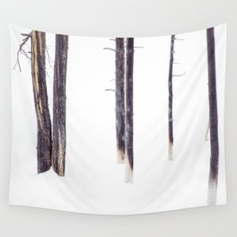Bare Trees in Winter Wall Tapestry