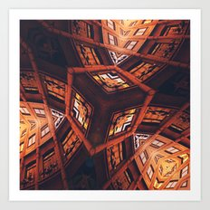 Industrial Labyrinth Art Print